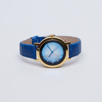 Charmz Metallic Round Wristwatch