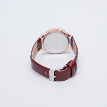 Charmz Wristwatch with Glossy Straps