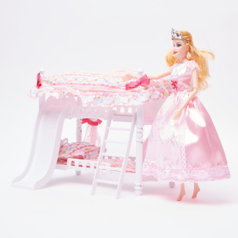 Furniture Warmth Doll with Bunker Bed