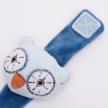Giggles Sweet Owl Wrist Rattle