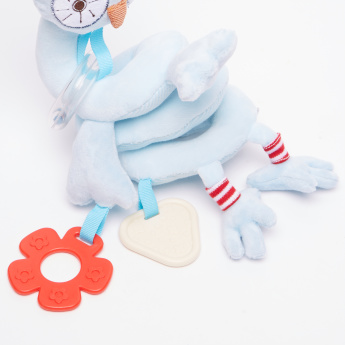 Giggles Sweet Owl Rattle with Teething Ring