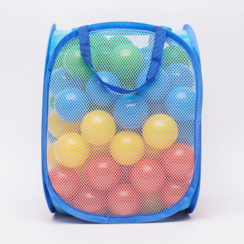 Juniors Mesh Hamper with 100 Balls