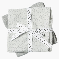 Done by Deer Printed Blanket - Set of 2