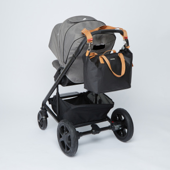 Storksak Stroller Bag with Zip Closure and Twin Handles