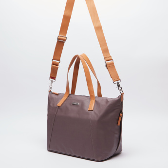 Storksak Tote Bag with Crossbody Bag and Changing Mat