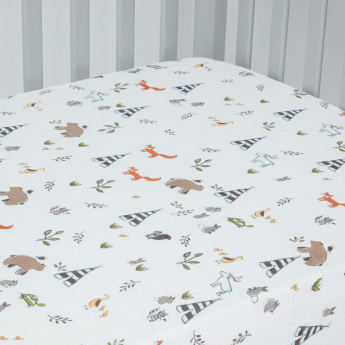 Little Unicorn Printed Bedsheet