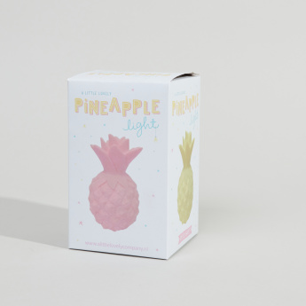A Little Lovely Company Decorative Pineapple Shaped Light