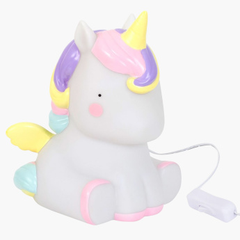 A Little Lovely Company Unicorn Shaped Table Light