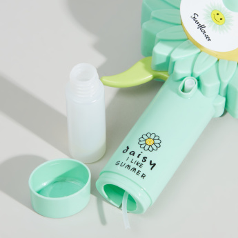 Sunflower Water Spray Hand Pressure Fan Assorted