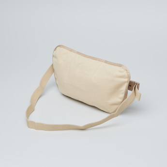 Multi-Compartment Travelling Fanny Bag with Buckle Strap