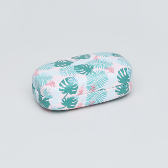 Tropical Printed Lens Box with Mirror