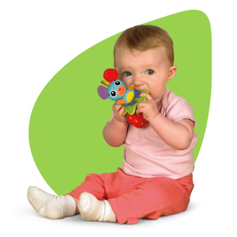 Mouse Shaped Teether Toy