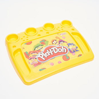 Play-Doh Activity Tray with Paintable Puzzle