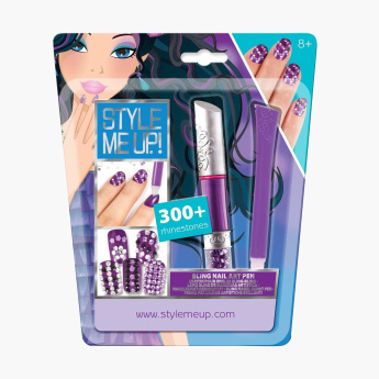 Style Me Up Bling Nail Art Set