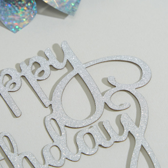 Charmz DIY Happy Birthday Craft Decor Set