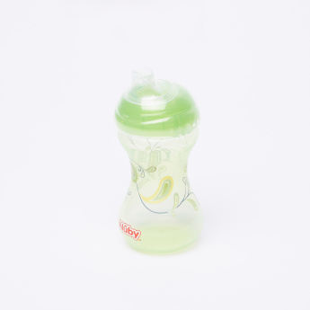 Nuby Printed Sipeez Clik-It Trainer Cup with Spout and Lid - 300 ml