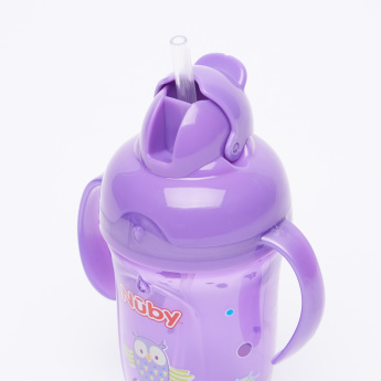 Nuby Printed Cup with Spout and Handle - 270 ml