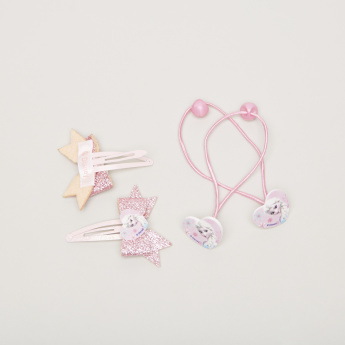 Frozen Applique Detail 4-Piece Hair Accessory Set
