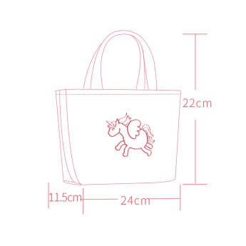 Sunveno Embroidered Thermal Insulation Handbag