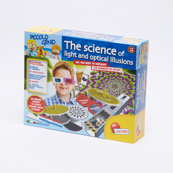 Piccolo Genio Illusions and Optical Sciences Playset
