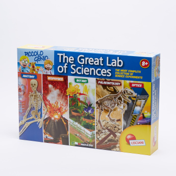 Piccolo Genio The Great Science Laboratory Playset