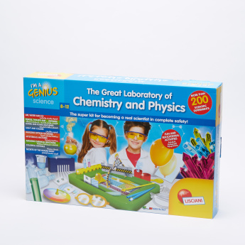 I'm a Genius The Great Laboratory of Physics and Chemistry Playset