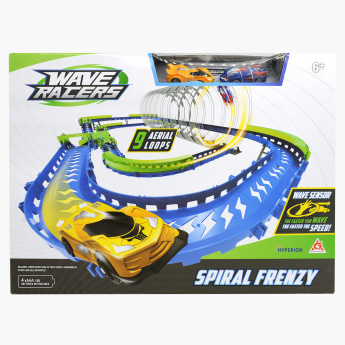 Spiral Frenzy 99-Piece Race Track Set