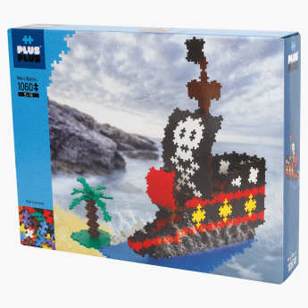 Plus-Plus Mini Basic Pirates 1060-Piece Blocks Playset