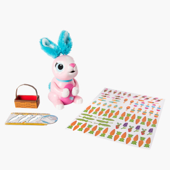 Zoomer Hungry Bunnies Interactive Toy with Accessories