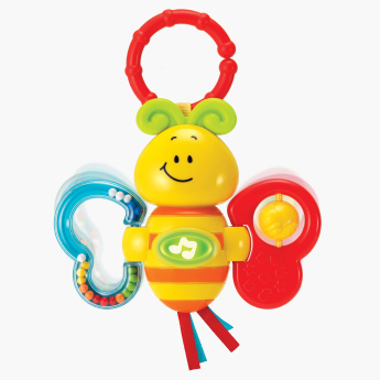 Twisty Butterfly Rattle Toy with Light and Sound