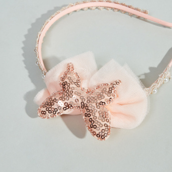 Charmz Embellished Butterfly Hair Band
