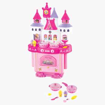 Princess Kitchen Set With Light And Sound Multicolour Hours Of