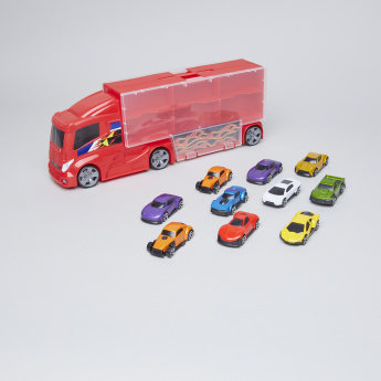 Teamsterz 11-Piece Truck Carry Case Playset
