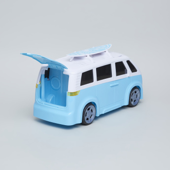 Teamsterz Lights and Sounds Camper Van
