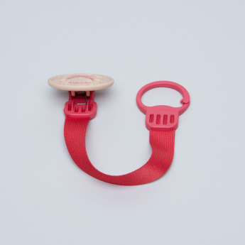 Suavinex Button Detail Soother Clip with Ribbon