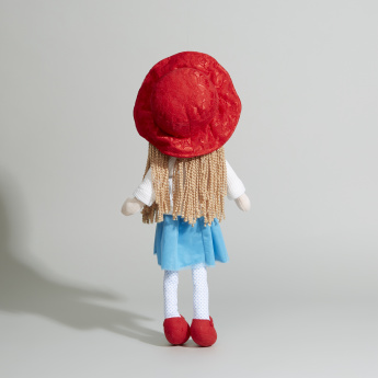 Juniors Hat and Skirt Rag Doll