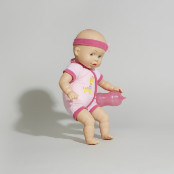 Cititoy Baby Doll with Feeding Bottle Playset