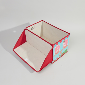 Juniors House Printed Storage Box