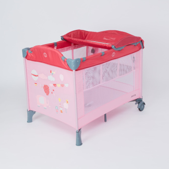 Juniors Tyson Travel Cot with Changing Station and Carry Bag