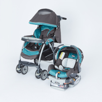 Chicco Cortina Travel System with Canopy