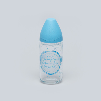 Sauvinex Printed Feeding Bottle - 240 ml