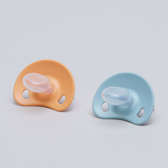 Suavinex Printed Soother with Handle - Set of 2