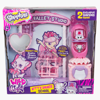 Shopkins Role Play Kitty Ballet Studio Playset