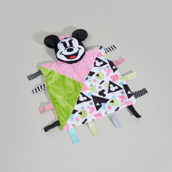 Minnie Mouse Printed Tag Blanket