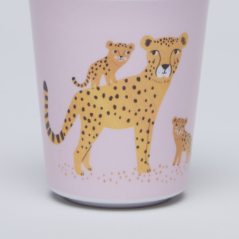 Petit Monkey Orchid Leopard Printed Cup