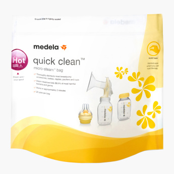 Medela Quick Clean Microwave Bags - Set of 5