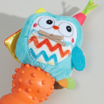 Juniors Plush Rattle Toy