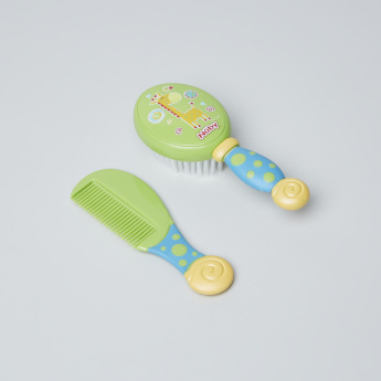 Nuby Printed Comb with Brush