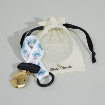 Elodie Details Embedding Bloom Pacifier Clip