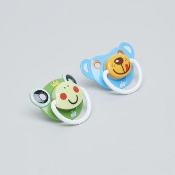 nip Printed Size 2 Pacifier - Set of 2